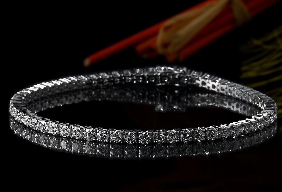 Bracciale Tennis con Diamanti