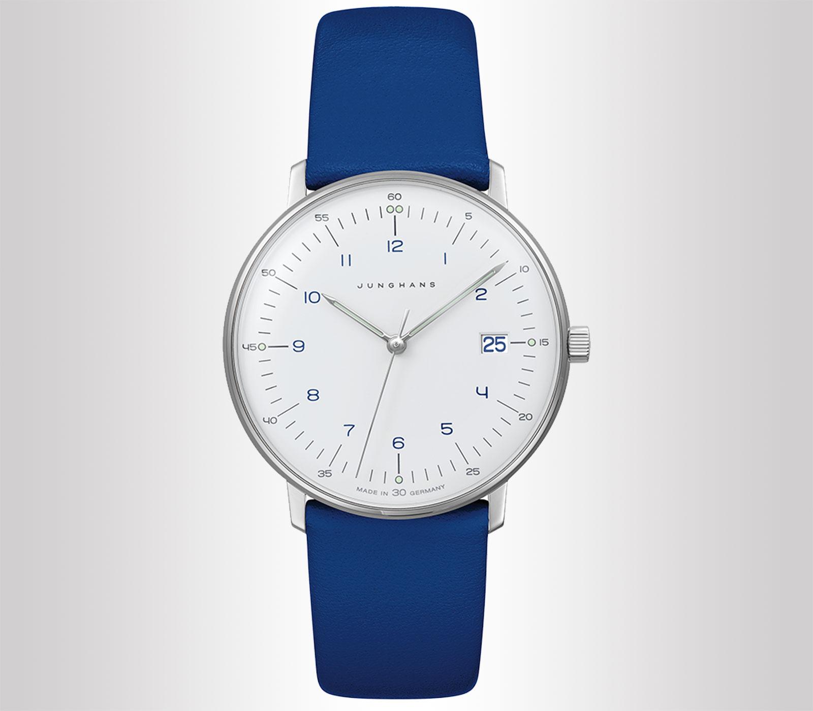 Orologio da donna Junghans Max Bill Damen Blu