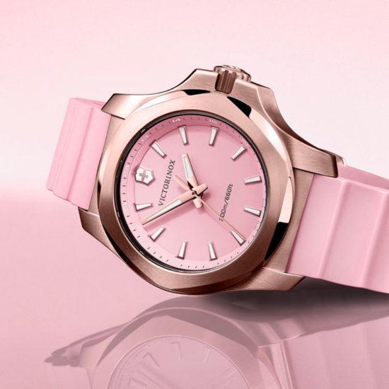 Victorinox orologio donna inox V rosa