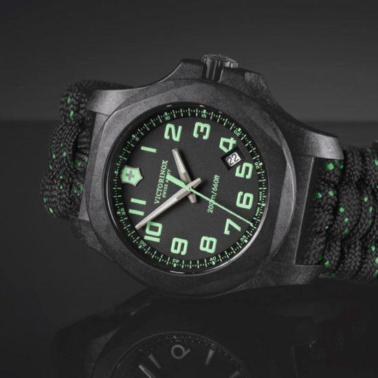 Victorinox orologio uomo inox carbon