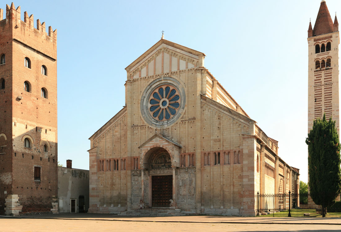 "Bombonato argenteria Basilica di San Zeno a Verona. <a href=""https://commons.wikimedia.org/wiki/File:Basilica_di_San_Zeno_high_resolution.jpg?uselang=it"" target=""_blank"" rel=""noopener noreferrer"">Licenza immagine</a>."