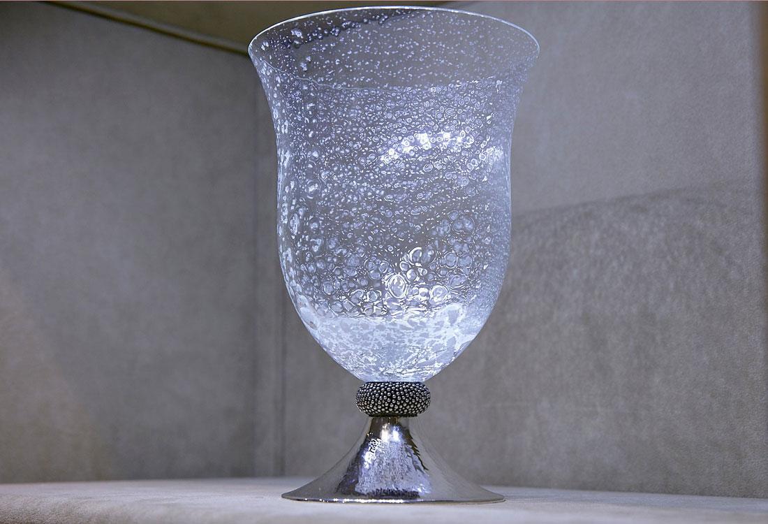 Bombonato argenteria per la casa vaso in argento buccellati