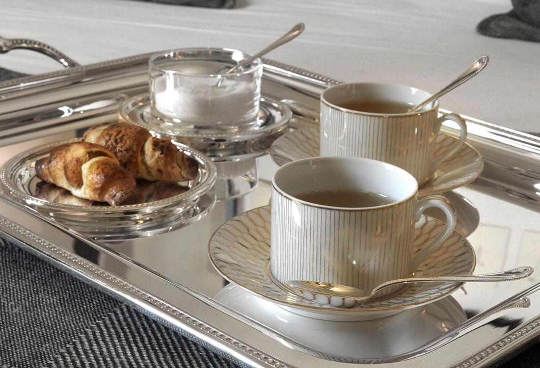 Bombonato argenteria servizio tè argento Greggio