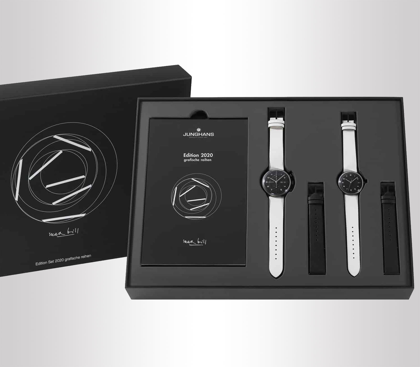 Set orologi Junghans max bill Edition Set 2020 limited edition solo 222 esemplari