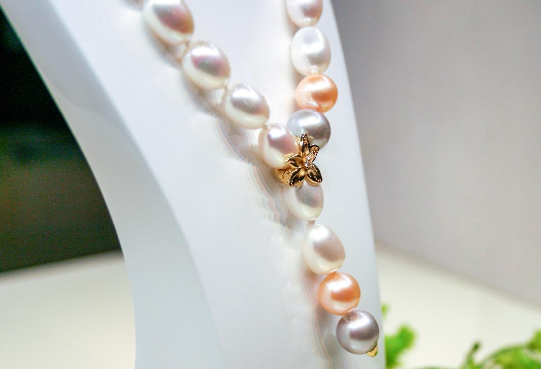 Gioco di colore con Perle dai colori Gold e Silver