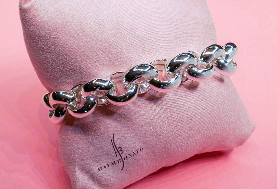 Un bracciale in argento 925 adatto in qualsiasi occasione